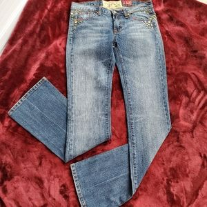 NWOT 7 For All Mankind Bootcut Blue Jeans Sz 27